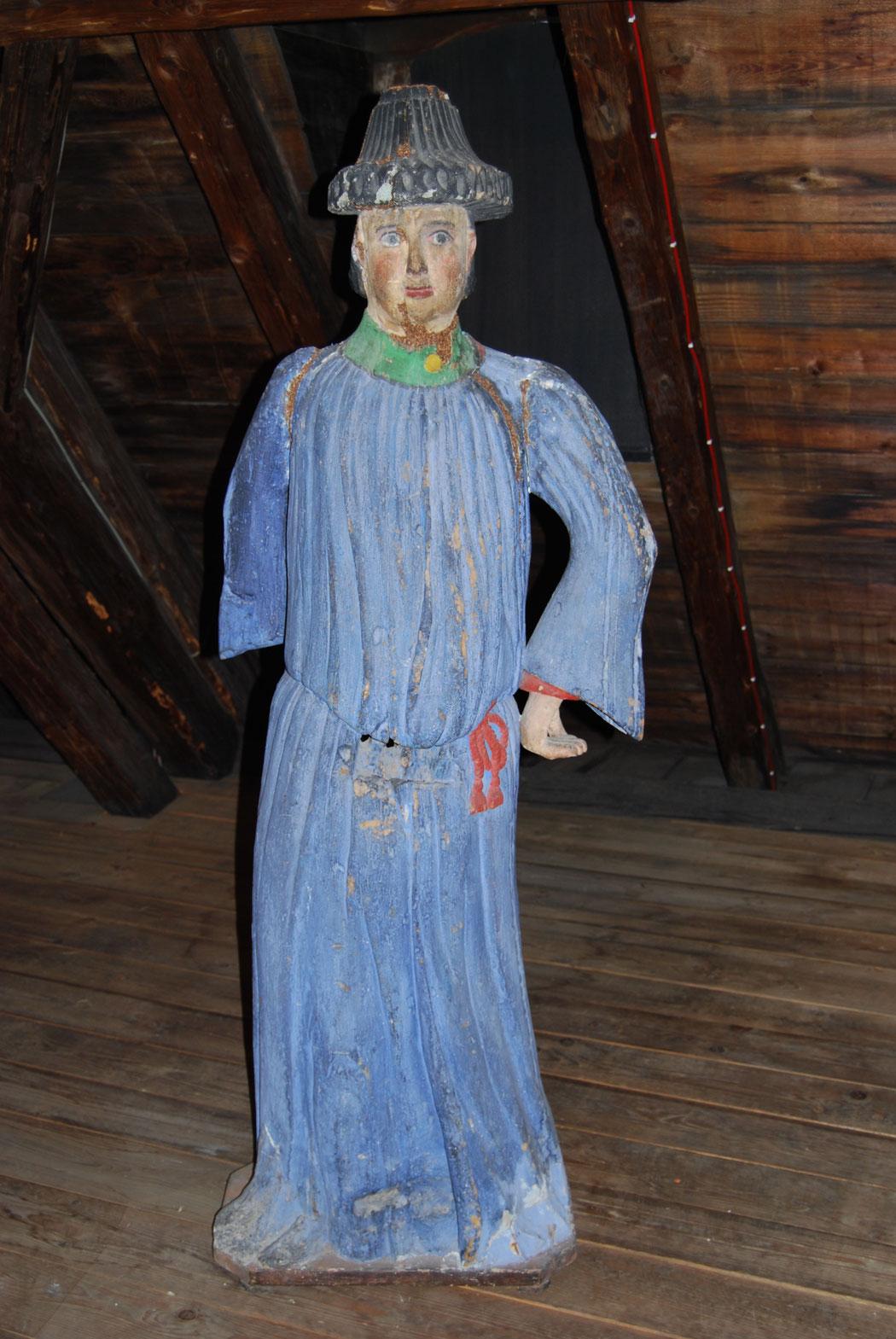 Figurenbeute Mann, letzter mir bekannter Ankauf des Agrar- und Freilichtmuseums Schloß Blankenhain