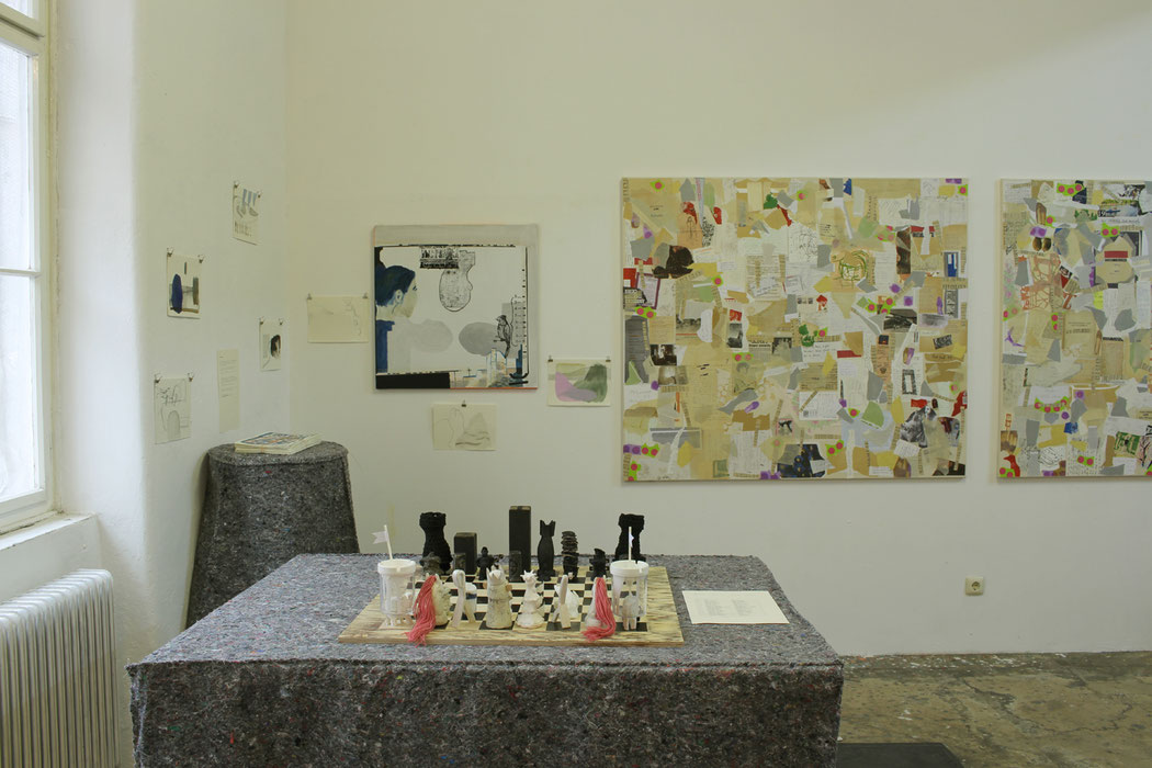 separate together, Ausstellungsansicht