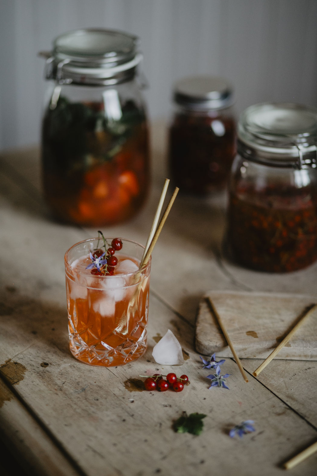 Auch bei Drinks - farm to table