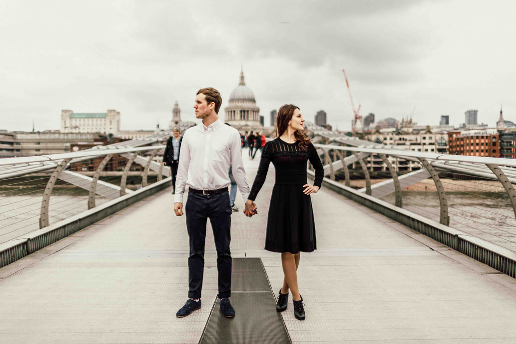 Engagement Shooting in London Elopement Shooting London England