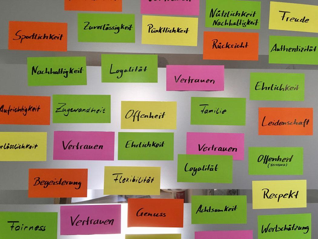 Werte Becher Seminare Kassel Kompetenznetzwerk