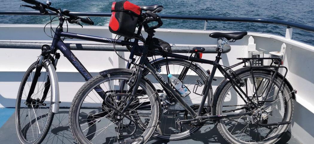 4 Fahrräder (2 EW und 2 Kinder) sind im Preis inklusive