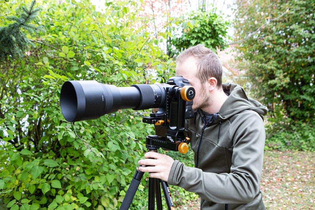 Rollei WH.30 Gimbal Stativkopf für große Objektive