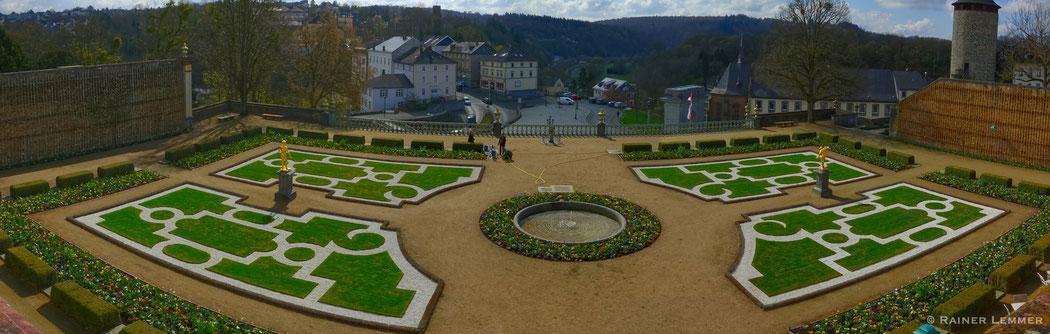 Schlossgarten Schloss Weilburg