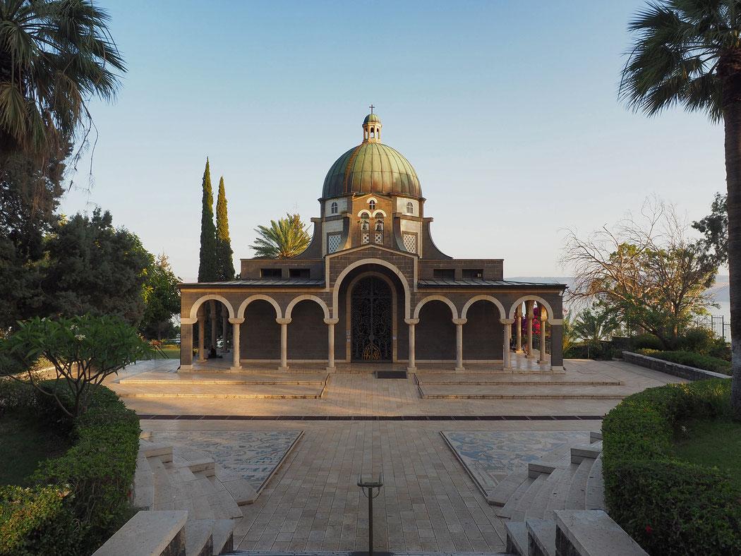 Basílica delMonte de las Bienaventuranzas