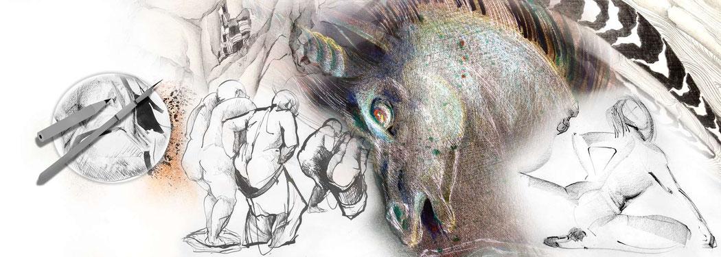 Bildmontage - ARTWORK3 - Heidemarie Franz