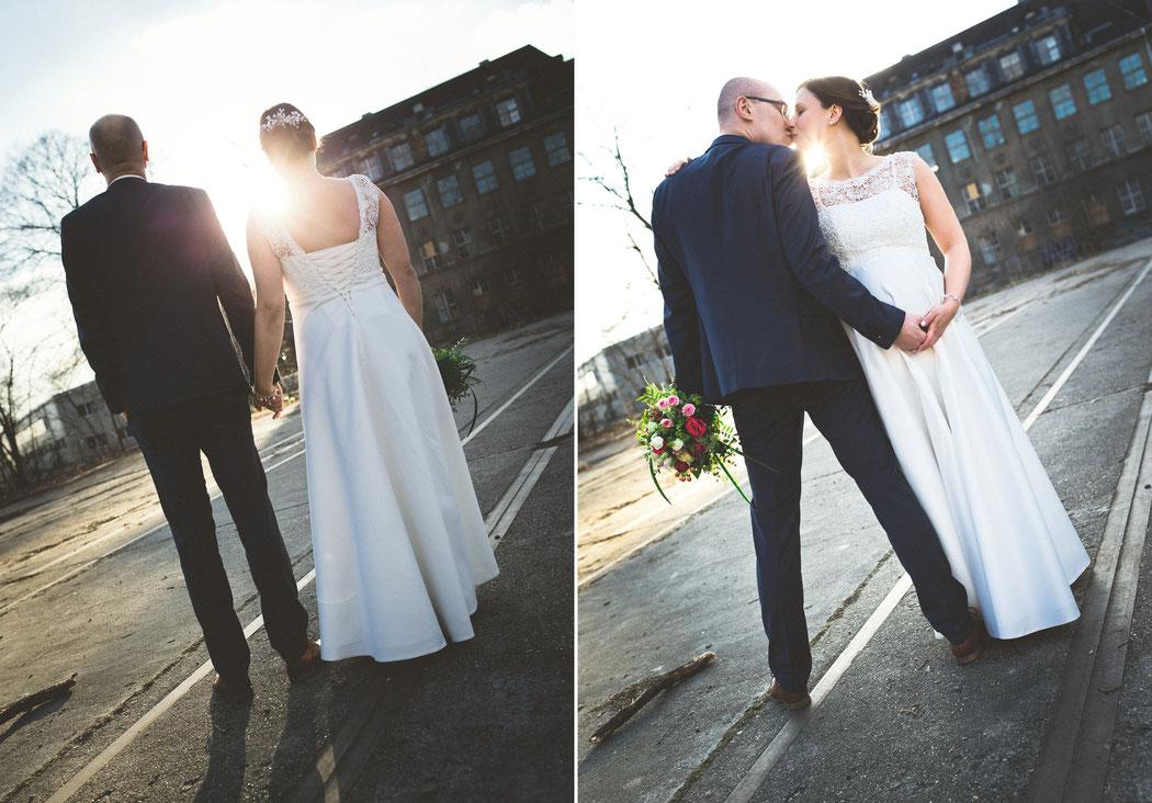 Hochzeitsfotos alte Fabrik chemnitz