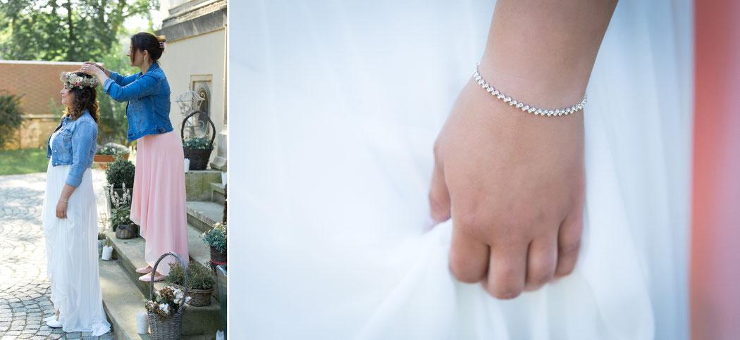 Hochzeit am morgen in der Villa gückelsberg