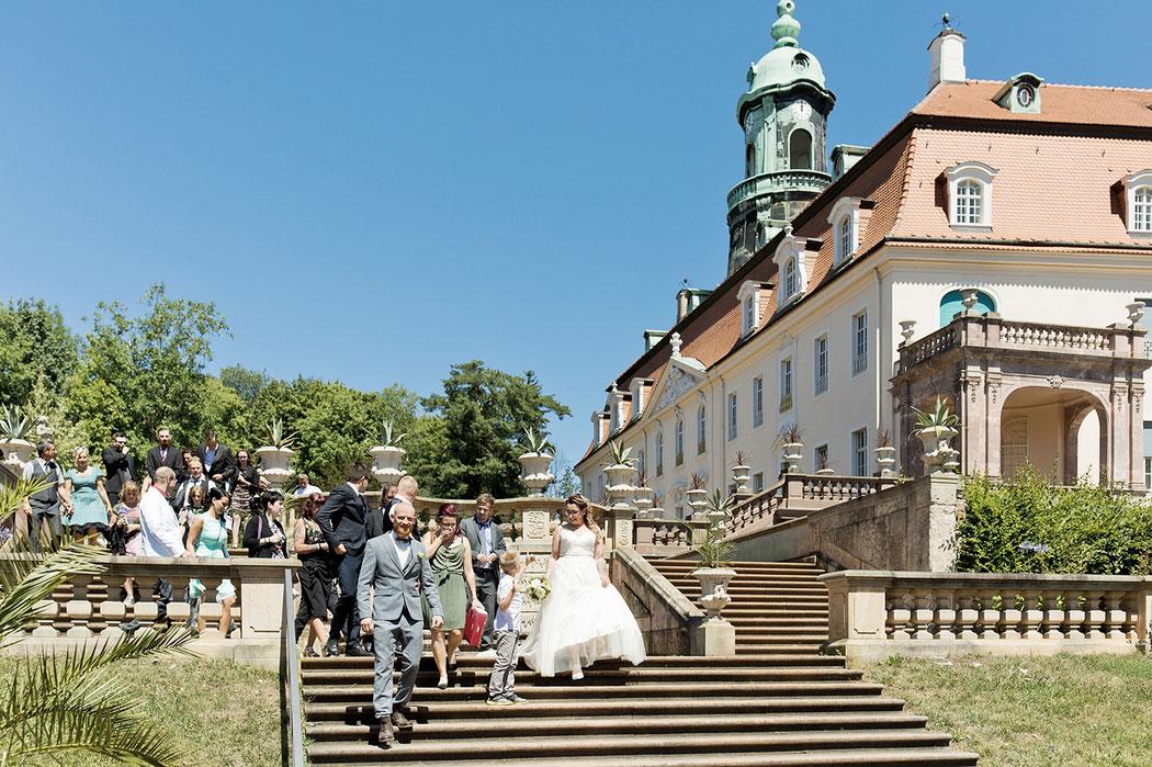 Barockschloss lichtenwalde hochzeit