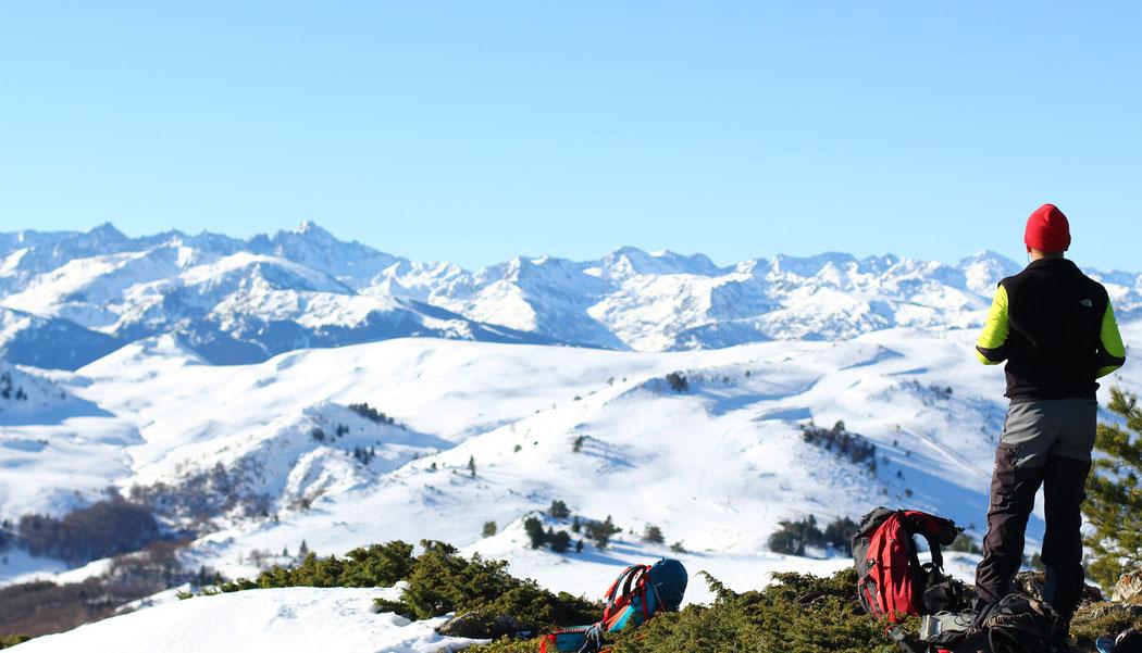 Camuraquettes - Les Pyrénées en toute simplicité - Raquettes à Camurac