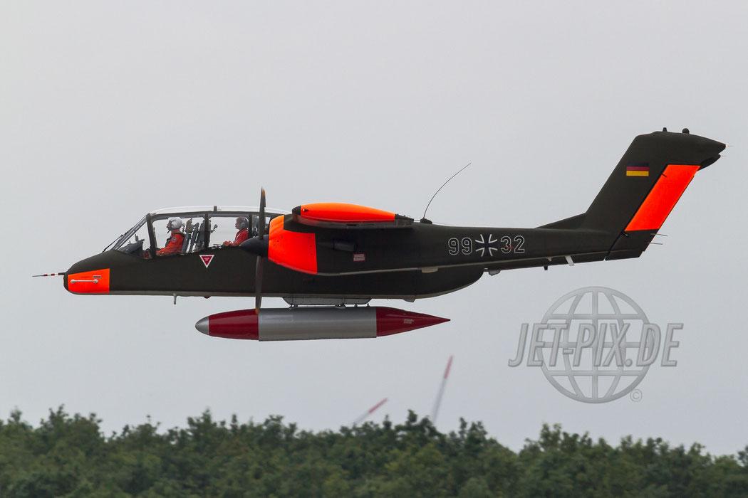 G-BZGK 99+32 North American Rockwell OV10B Bronco 2012.06.15 ETNG/GKE Geilenkirchen