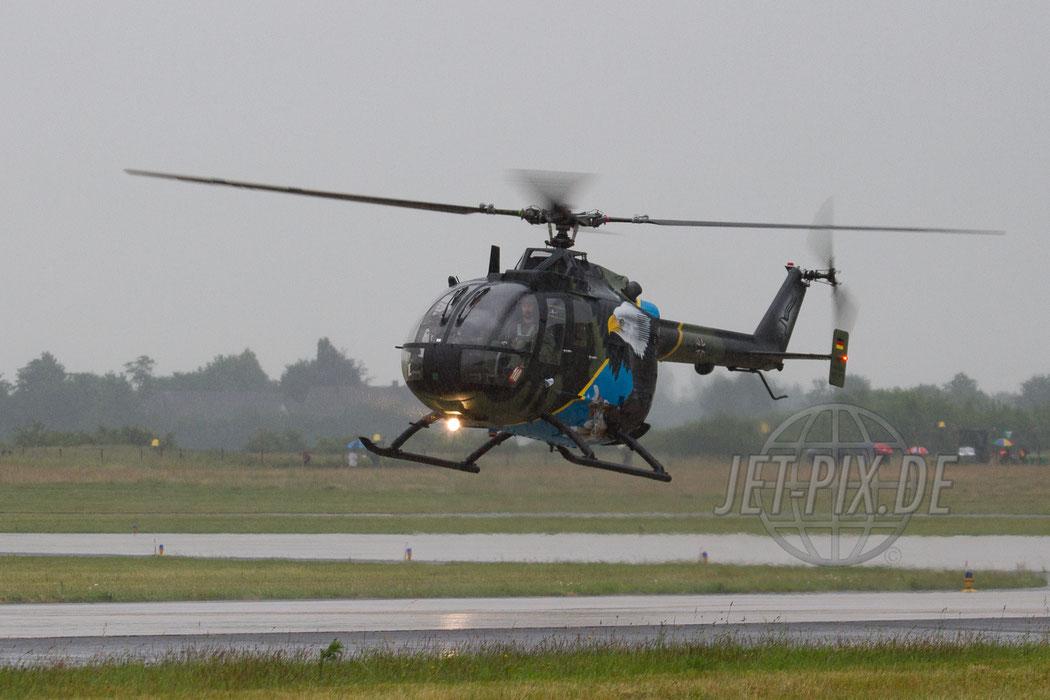 88+12 German Army Messerschmitt-Bölkow-Blom-(MBB) Bo105P 2012.06.15 ETNG/GKE Geilenkirchen