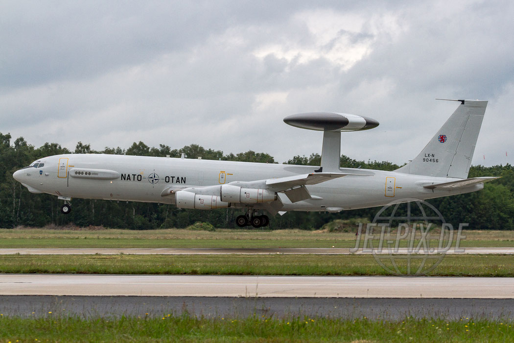 LX-N 90456 NATO Boeing E-3A Sentry (707-320B) 2012.06.15 ETNG/GKE Geilenkirchen