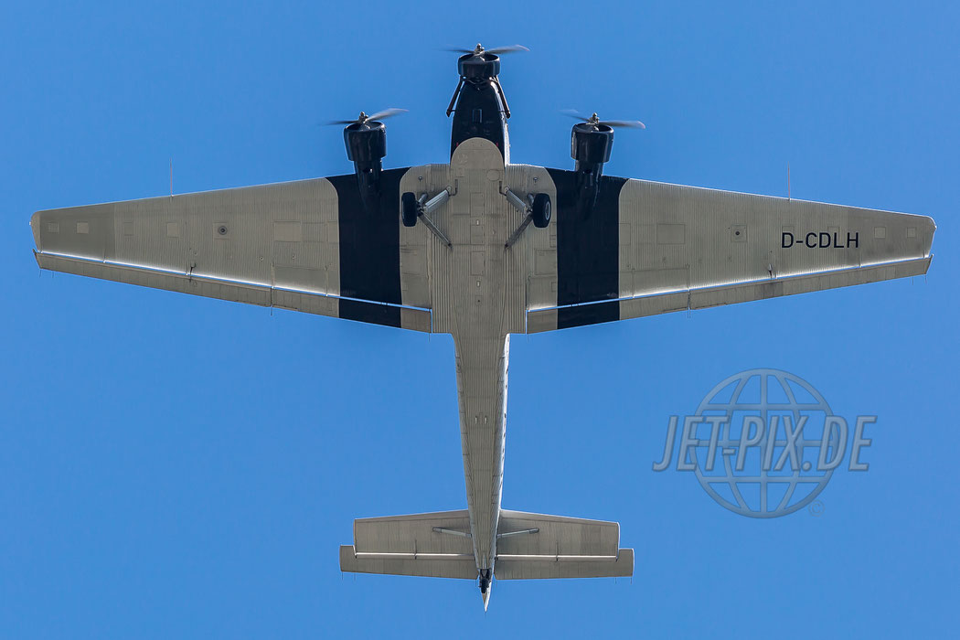 D-CDLH aka. D-AQUI Lufthansa-Stiftung Junkers Ju 52/3mg8e 2017 07 05