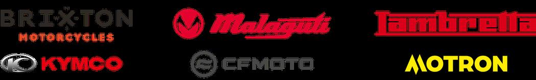 Händler in der Region Thun | Berner Oberland der Marken Brixton Motorcycles, Malaguti, Lambretta, Kymco, CFMoto, Motron und Pony-Mofa