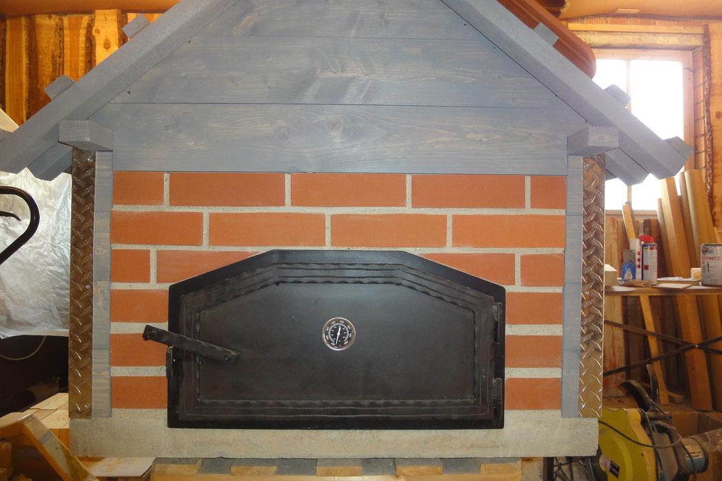 backofent ren aus stahl backhaus pizzaofen. Black Bedroom Furniture Sets. Home Design Ideas