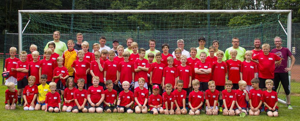 Tolles Wochenende für alle Fußballkinder