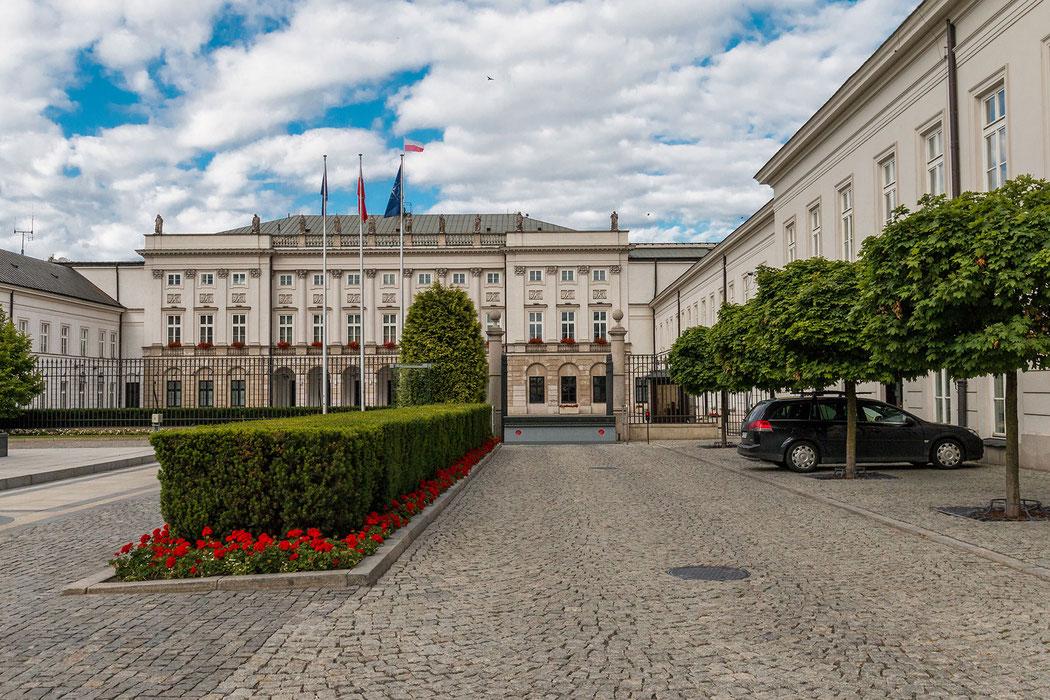Präsidentenpalast in Warschau © Jutta M. Jenning