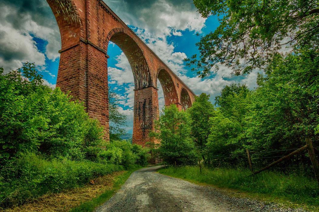 Himbächel-Viadukt im Odenwald