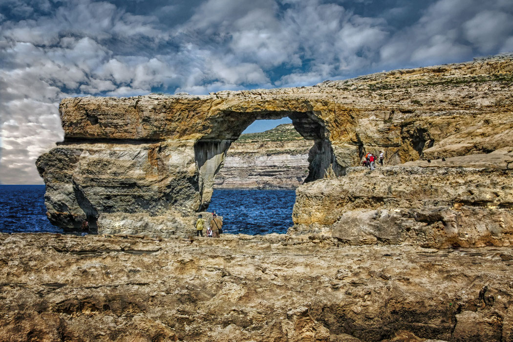 Azure Window auf Gozo