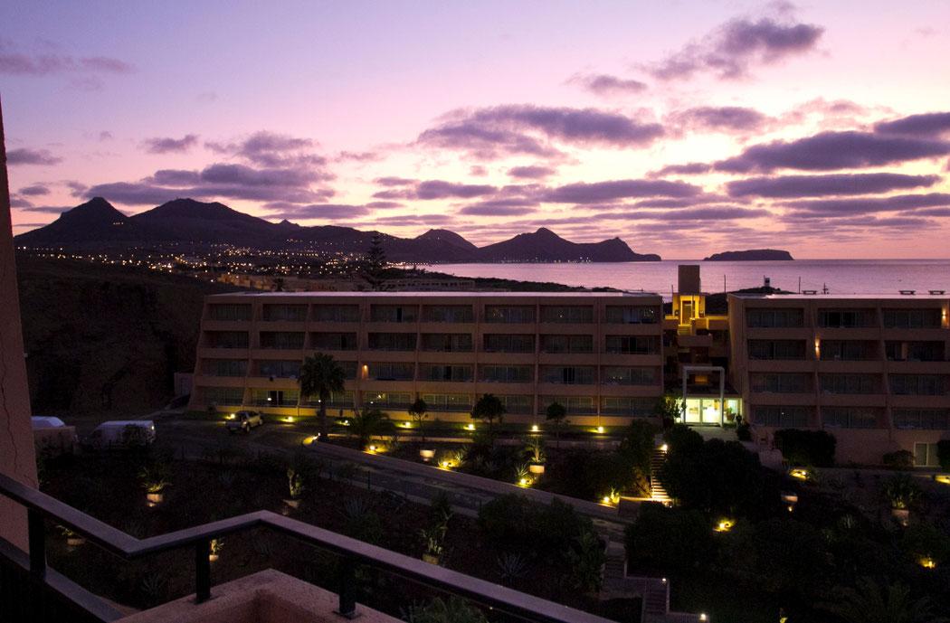 """Vaizdas iš """"Vila Baleiros"""" viešbučio balkono"""