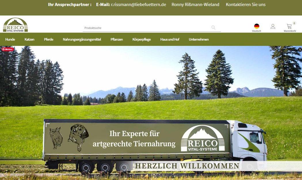 Willkommen im neuen Reico Online Shop