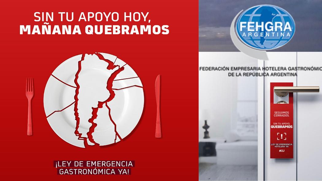 Fehgra  sector hotelero y gastronómico autoconvocados Ley de Emergencia Nacional