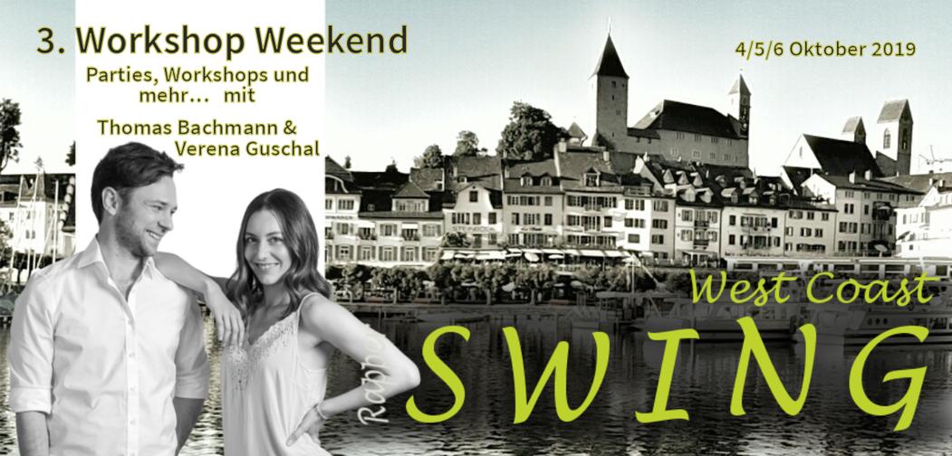 Unvergesslich die 3. Edition des Workshop Weekends mit Thomas und Verena