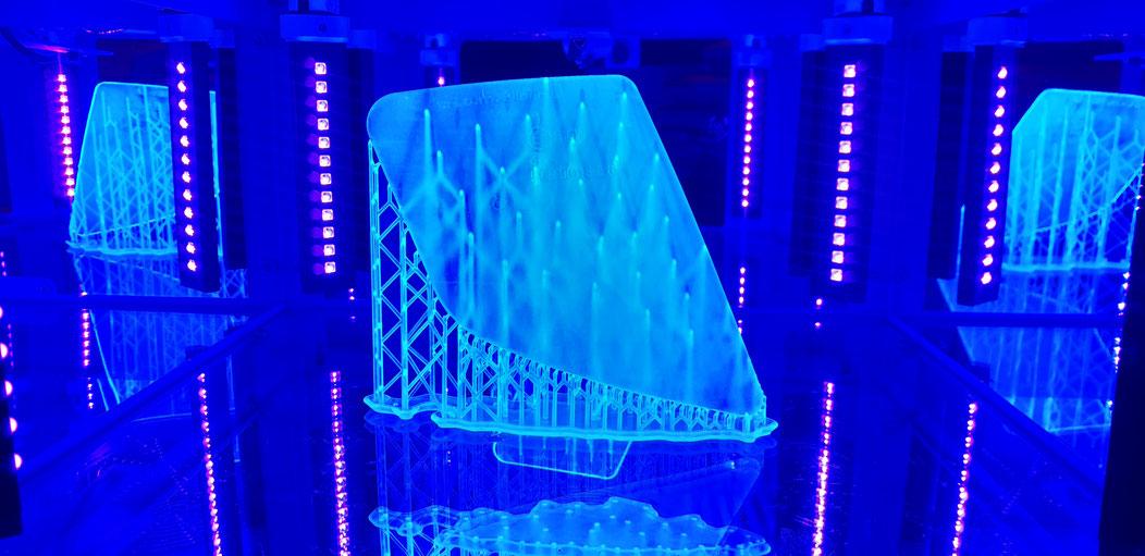 Piaggio SKR125 Scooter Blinkerglas: 3D-Druck in UV-Kammer