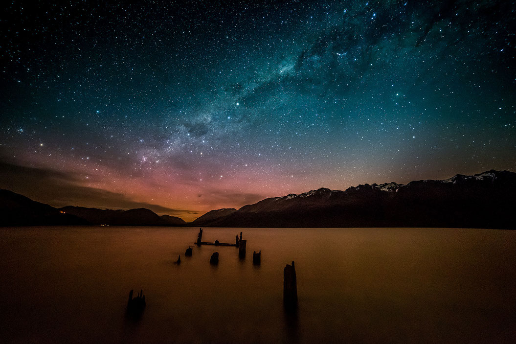 Best photography spots in Queenstown: Old Glenorchy Wharf