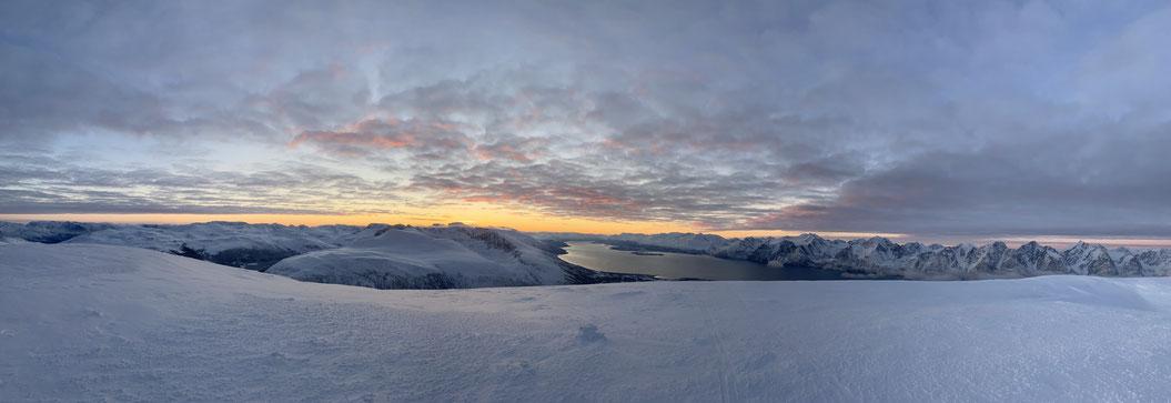 Lyngen Alpen, Ski Norway, Sail and Ski
