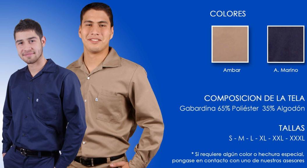 camisolas industriales, uniformes industriales, camisas de trabajo