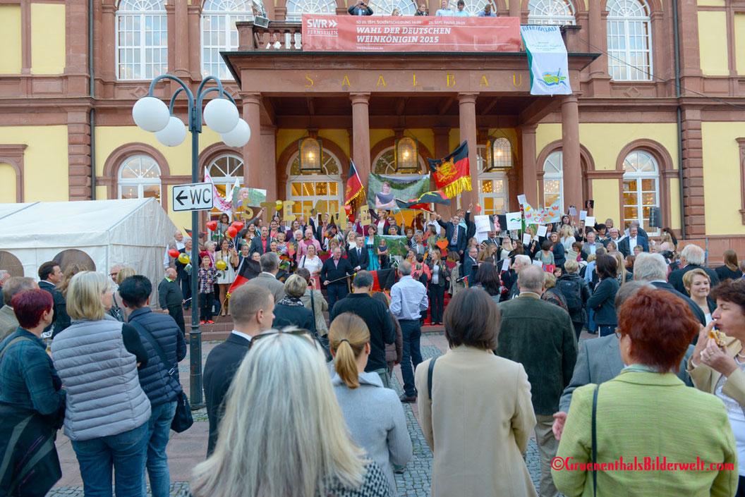 Neustadt Weinstraße - Wahl der deutschen Weinkönigin 2012