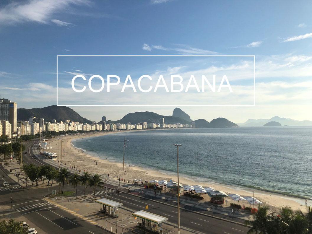 Lever de soleil à Copacabana