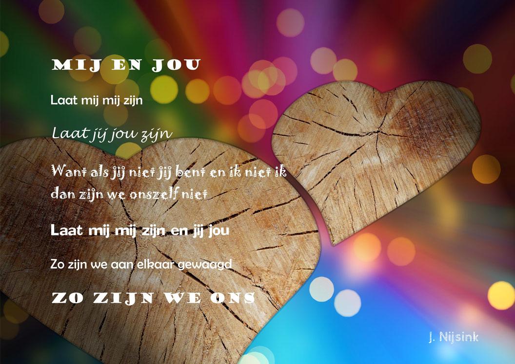 Gedicht mij en jou