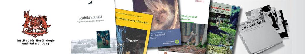 Bücher und Broschüren | Institut für Tierökologie und Naturbildung