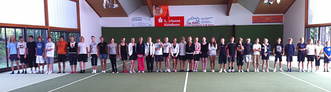 Jugend Tennistraining in Bonn