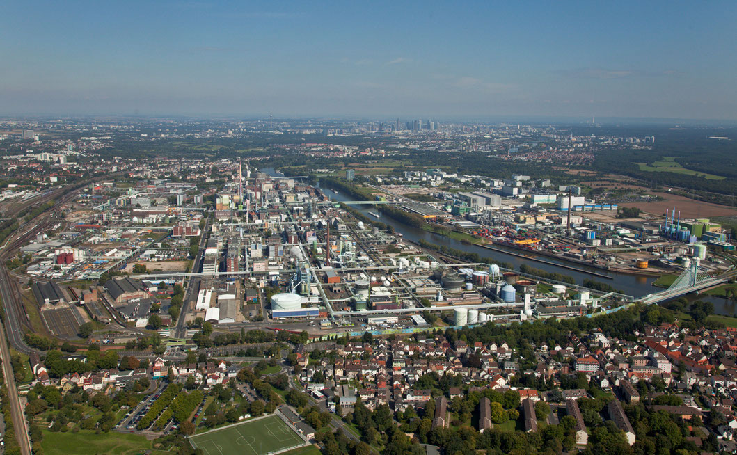 Industriepark Höchst in Frankfurt am Main (Foto: Infraserv Höchst)