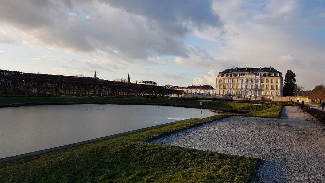 Schloss Augustusburg, Schlossgarten