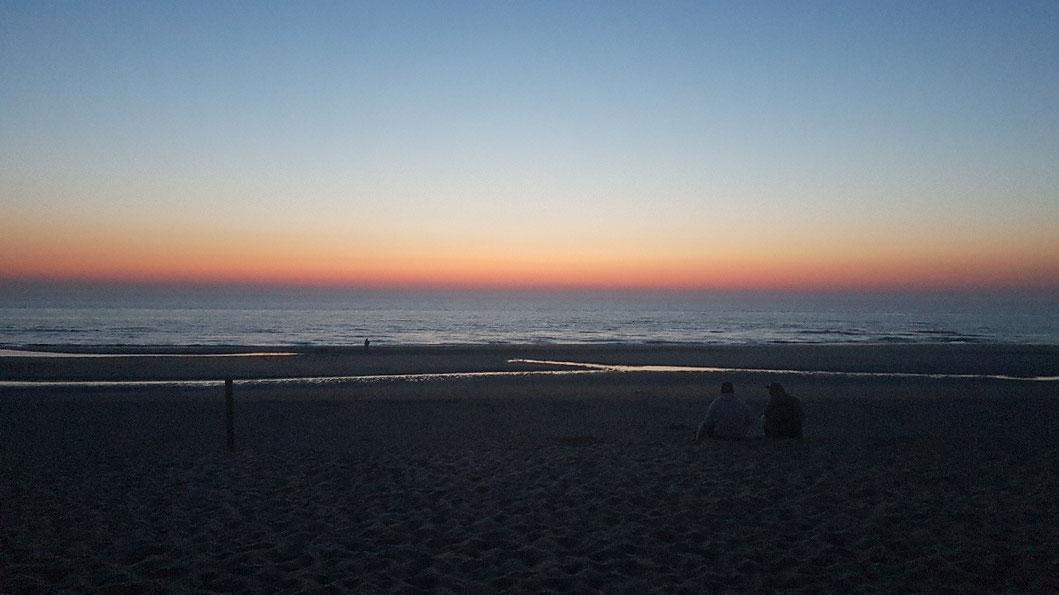 Am Strand von Noordwijk/Niederlande 2019