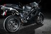 Voici un exemple de photo de moto sport prise à l'aide de flashs.
