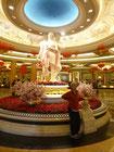 Das Caesar Palace ist am 19.02. für das chinesische Neujahr reich geschmückt