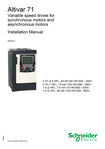 Schneider Electric - Altivar 71 - Variable speed drives for synchronous motors and asynchronous motors - Installation Manual - 04/2017 - ATV71S_installation_manual_EN_1755843_05 © Schneider Electric GmbH 2020, All rights reserved