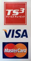 VISA・MasterCard クレジットカード使用出来ます♪