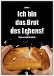 christliches Poster, Plakat, Abendmahl, Jesus, Brot des Lebens, Schaukasten, Kirche
