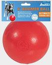 Un jouet Boomer Ball rouge pour cadeau de noel chien par coach canin 16 educateur canin à domicile angouleme