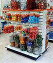Exhibidores para dulcerías, muebles para dulces