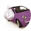 assurance auto temporaire voiture violet montre vintage comparatif comparateur comparaison devis gratuit