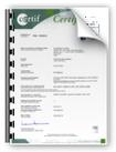 Certificat Solar Keymark Capteur