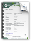 Certificato Solar Keymark